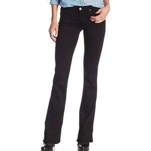 PAIGE Skyline boot cut black shadow jeans